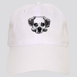 Black & White Puggle Cap